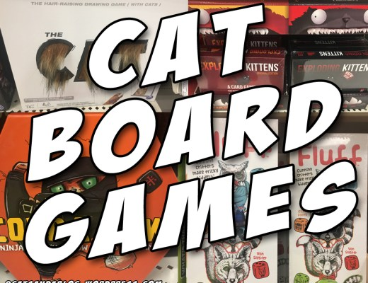 Cat Board Games #CatBoardGames