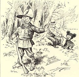 "Teddy Bear Day - In 1902, American President Theodore Roosevelt refused to shoot a bear cub while hunting in Mississippi. This incident made national news. Clifford Berryman published a cartoon of the event in the Washington Post on November 16th, 1902. The caricature became an instant classic. It inspired a New York store owner Morris Michtom to create a new toy. Morris Michtom wrote President Roosevelt to ask permission to name the new toy a ""Teddy Bear""."