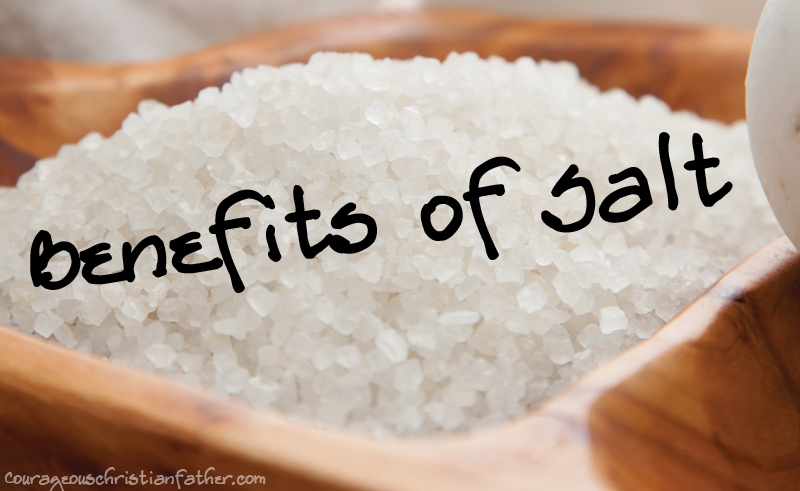 20+ Benefits of Salt - The Bible tells us we are the salt of the Earth. So I figured I would share the benefits of salt. #BenefitsofSalt
