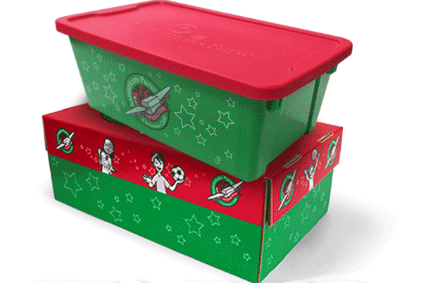 Operation Christmas Child Plastic Box A New Option