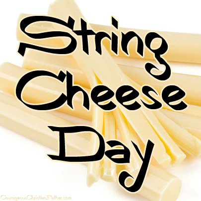 String Cheese Day - Adult or child, we all love to pull apart that string cheese. Did you know there is a day for that cheese? How about some recipes for that string cheese? #StringCheese #StringCheeseDay