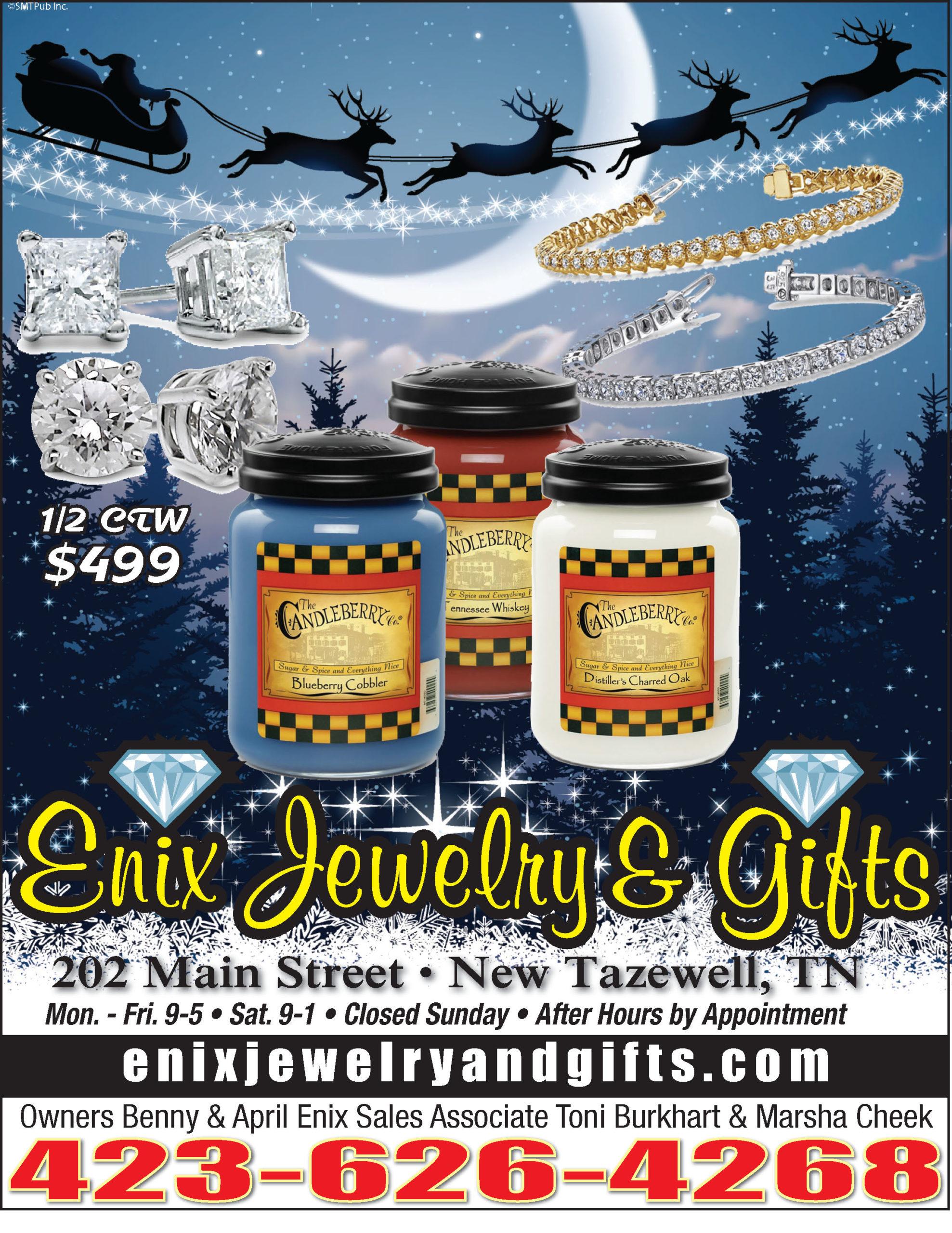 Enix Jewelry Ad