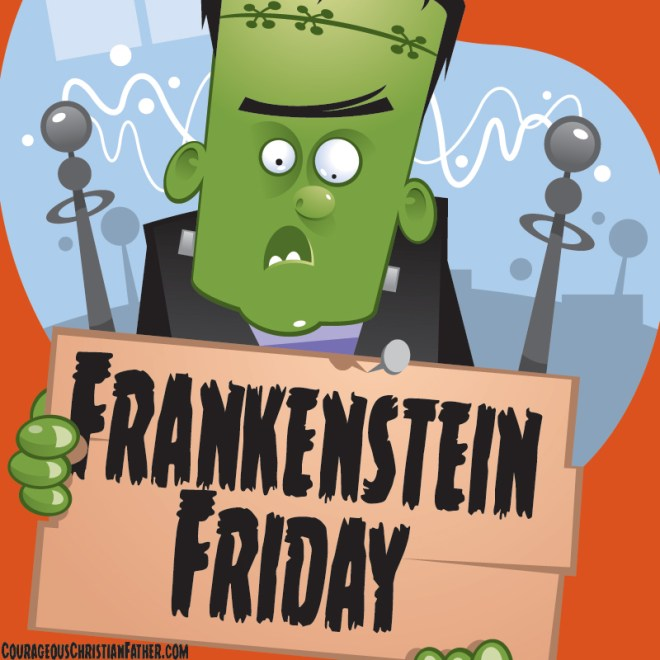 Frankenstein Friday - A day for the monster that Franenstein created. #FrankensteinFriday #Frankenstein
