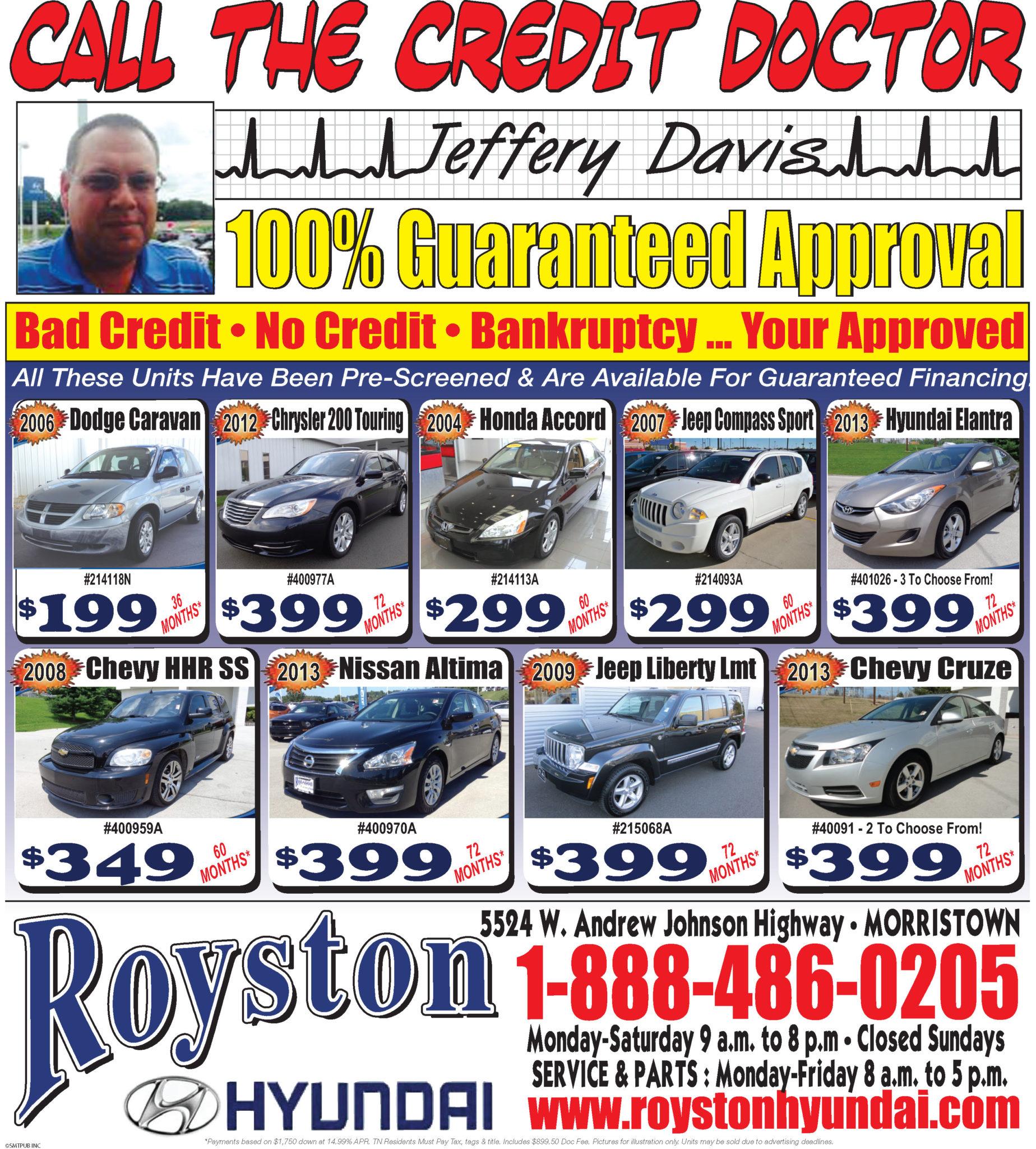 Royston Hyundai Ad