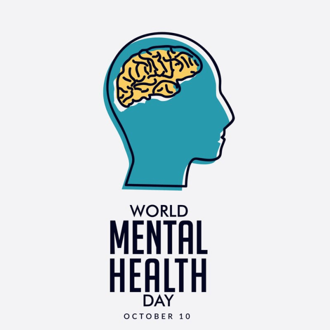 World Mental Health Day - an awareness day to help raise awareness of mental health. #WorldMentalHealthDay #MentalHealthDay
