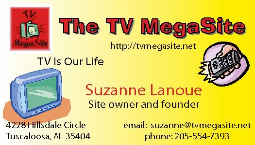 TV Mega Site Business Card