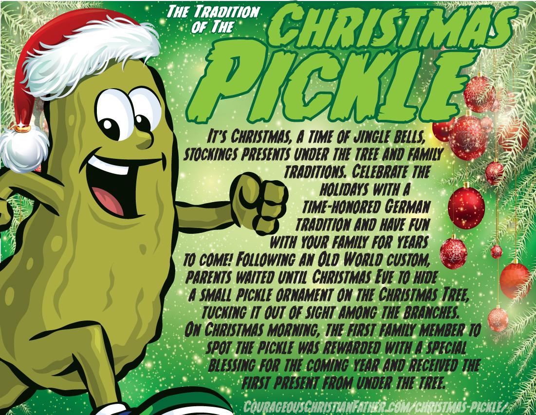 Christmas Pickle Printable