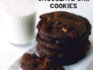Double Chocolate Chip Cookies - Holiday cookies the whole family will love! Many people enjoy baking come the holiday season, and perhaps no dish is more synonymous with holiday baking than cookies. Children leave cookies out for Santa Claus on Christmas Eve, while adults may indulge and enjoy an extra cookie or two at family gatherings or holiday office parties.
