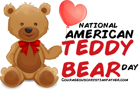 National American Teddy Bear Day - Yet another day for the beloved teddy bear.