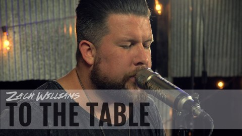 To the Table by Zach Williams - This is a music video of Zach Williams preforming his song To the Table with Way-FM. #TothTable #ZachWilliams