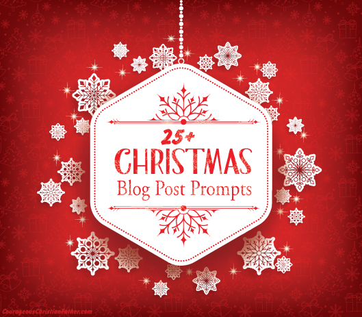 25+ Christmas Blog Post Prompts - This is a list of 25 Christmas related blog post that you could use to make more blog post. This is great for those with Christmas related writers block.