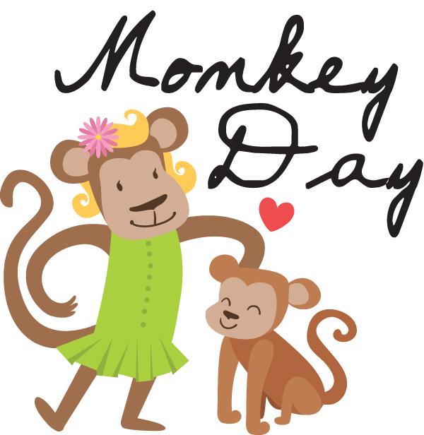 Monkey Day a day to celebrate a wild popular animal the monkey. #MonkeyDay