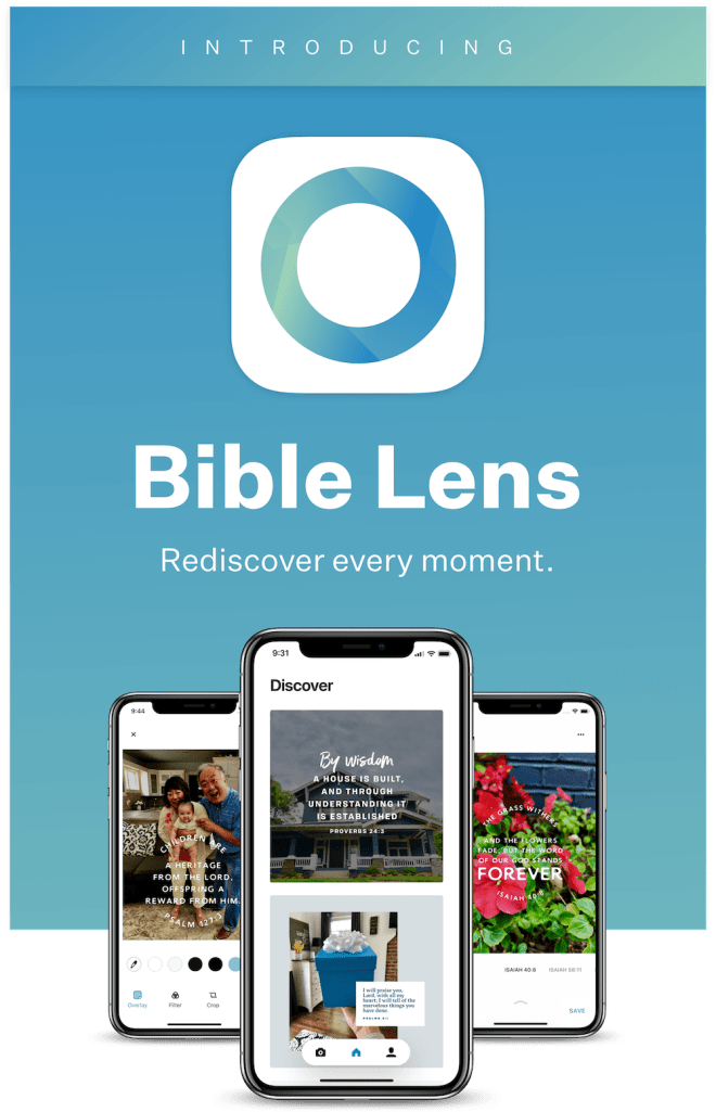YouVersion Bible Lens - Now you can easily create Bible Verse memes with your personal photos. #BibleLens