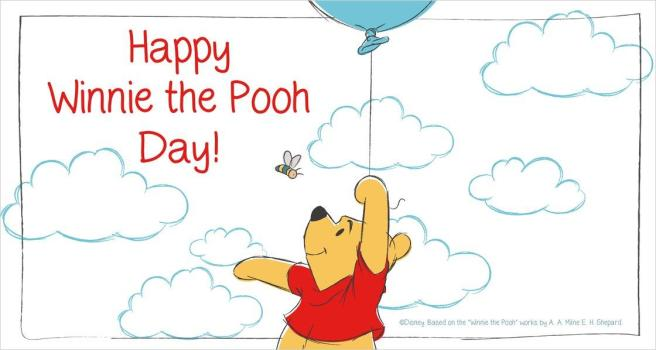 National Winnie the Pooh Day is observed annually on January 18th. Winnie the Pooh is a creation from author A.A. Milne. He brought this adorable, honey-loving bear to life in many stories which also featured his son, Christopher Robin.