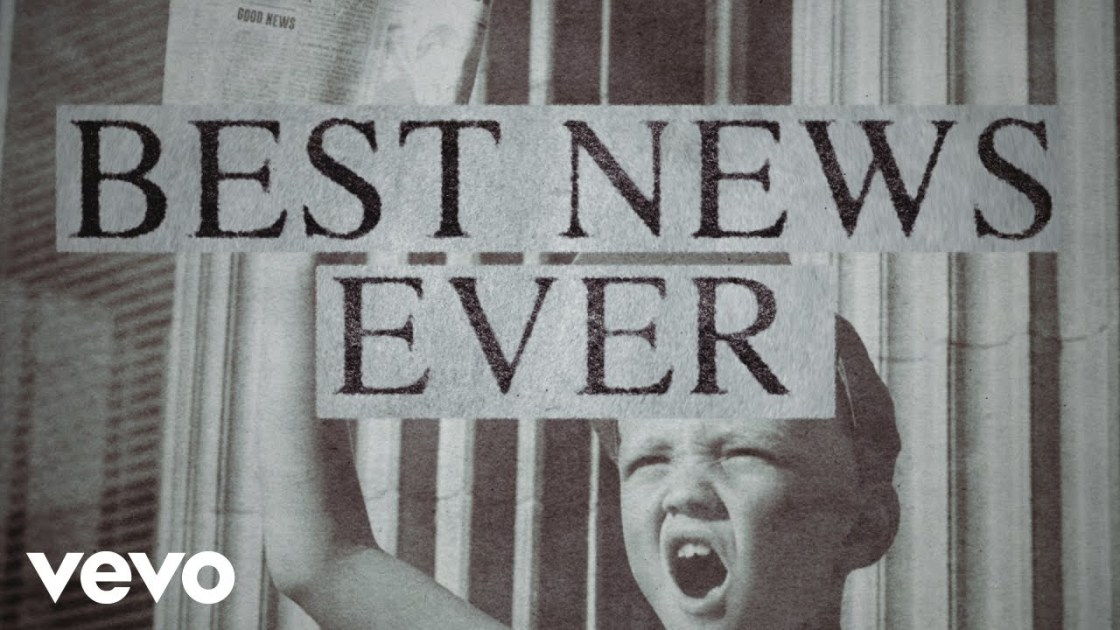 Best News Ever by MercyMe - This week's Christian Music Monday I share this song by MercyMe ... It's not good news ... It's the best news ever!