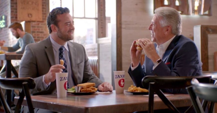 Zaxby's Jabs at Chick-fil-A for being closed on Sunday in Super Bowl Commercial. #Zaxbys #ChickFilA #SuperBowl