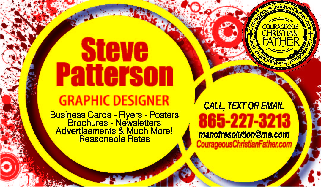 Steve Patterson Graphic Design Business Card