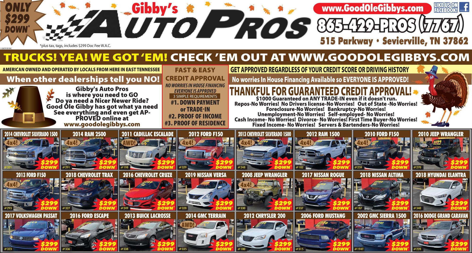 Gibby's Auto Pros