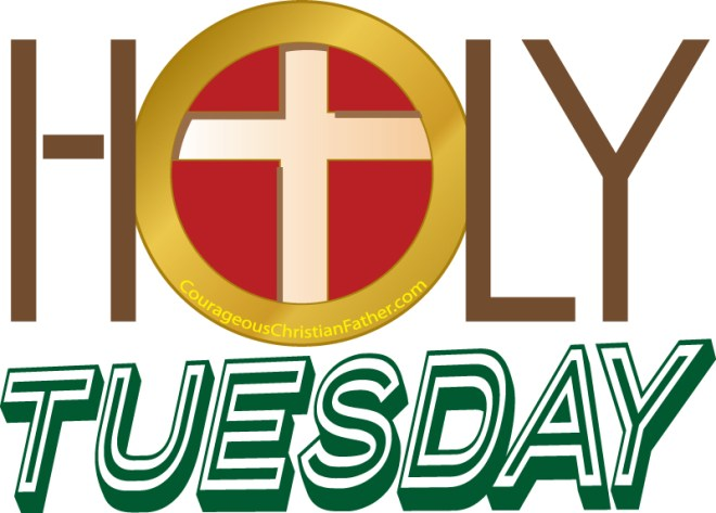 Holy Tuesday is also known as Great and Holy Tuesday. This is the Tuesday just before Easter. This is part of Holy Week. #HolyTuesday
