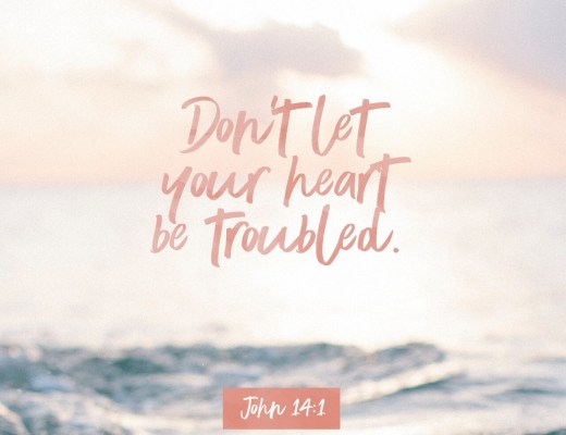 "VOTD May 30, 2019 ""Do not let your heart be troubled; believe in God, believe also in Me."" ‭‭JOHN‬ ‭14:1‬ ‭NASB‬‬"