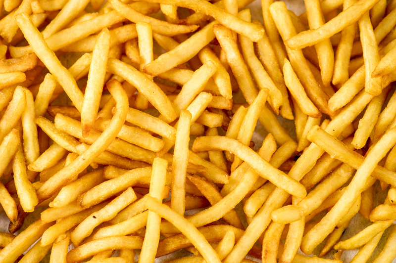 · French fries: French fries are a favorite at fairs, and carnival-goers can choose from savory shoestrings to hearty steak-cut potato chunks.