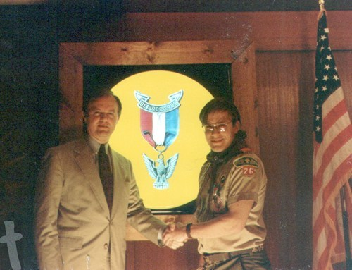 Steve Eagle Scout Banquet 1994 - 25 Years of being an Eagle Scout - It has been 25 years now since I attained the highest rank in the BOY Scouts of America. Back when Boy Scouting was Boy Scouting. #EagleScout #BoyScouts