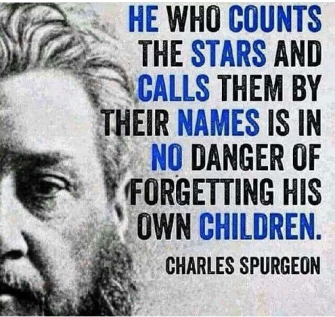 forgetting His own children Charles Spurgeon