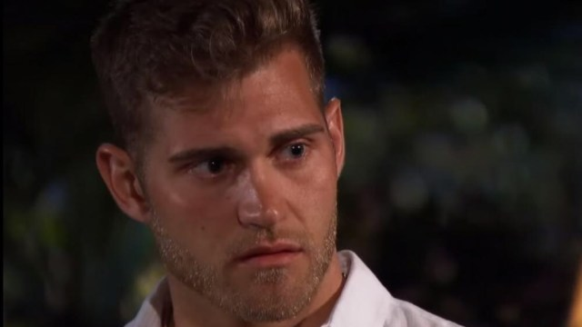 """""""The Bachelorette"""" star Luke Parker has been booted off the show after revealing he held to the Christian views towards purity, abstaining from sex before marriage."""