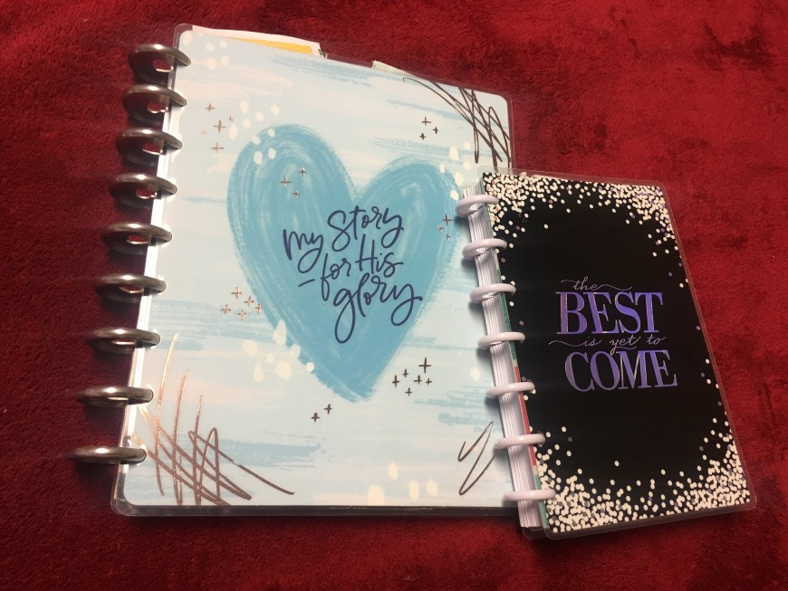 These are the two Happy Planners that I have purchased so far. | Photo Credit Heather Patterson