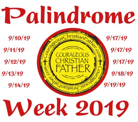Palindrome Week 2019 – A Week long mathematical holiday where the date is the same forward as it is backwards. #PalindromeWeek #Palindromes