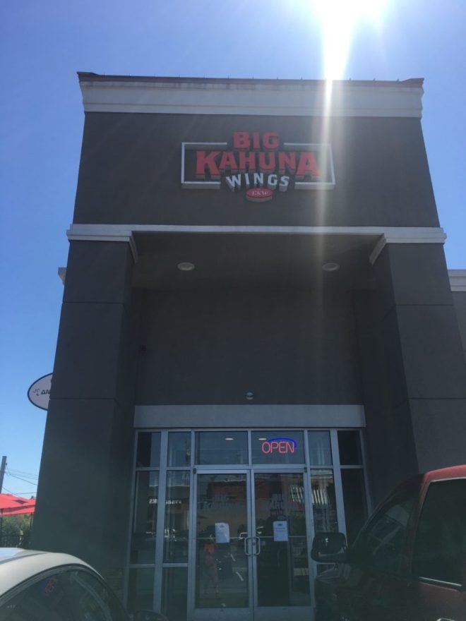 Big Kahuna Wings (BKW) - is this week's Travel Thursday. - We visited the location by West Town Mall in Knoxville, TN. This is a local company based in Knoxville area. My wife and I was out and said let's try somewhere new and this is where we ended up! #BKW #BigKahunaWings