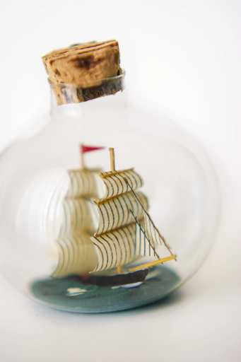National Ships-in-Bottles Day - a day for those bottle displays that shows a ship inside its class area. #ShipsInABottlesDay