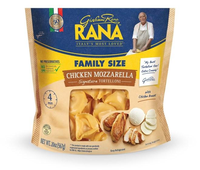 Pasta Day - GioVanni Roma Rana Chicken Mozzerella Tortelloni