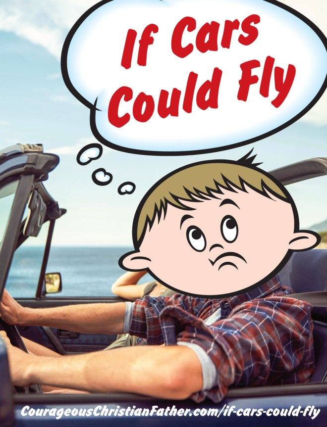 If Cars Could Fly - We wouldn't have roads! But the air traffic would be crazy. I am sure there would be no real direct path. I guess you could fly as the crow flies?