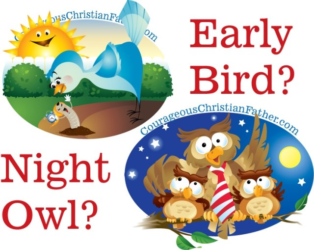 Are you a night owl or are you the early bird? What's your most productive time of day? When do you do your best work? #NightOwl #EarlyBird