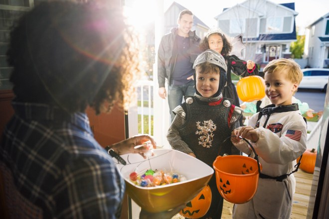 Trick or Treat Age Restriction Laws - in some cities or states, it is illegal to trick or treat for candy on Halloween if you are over a certain age.