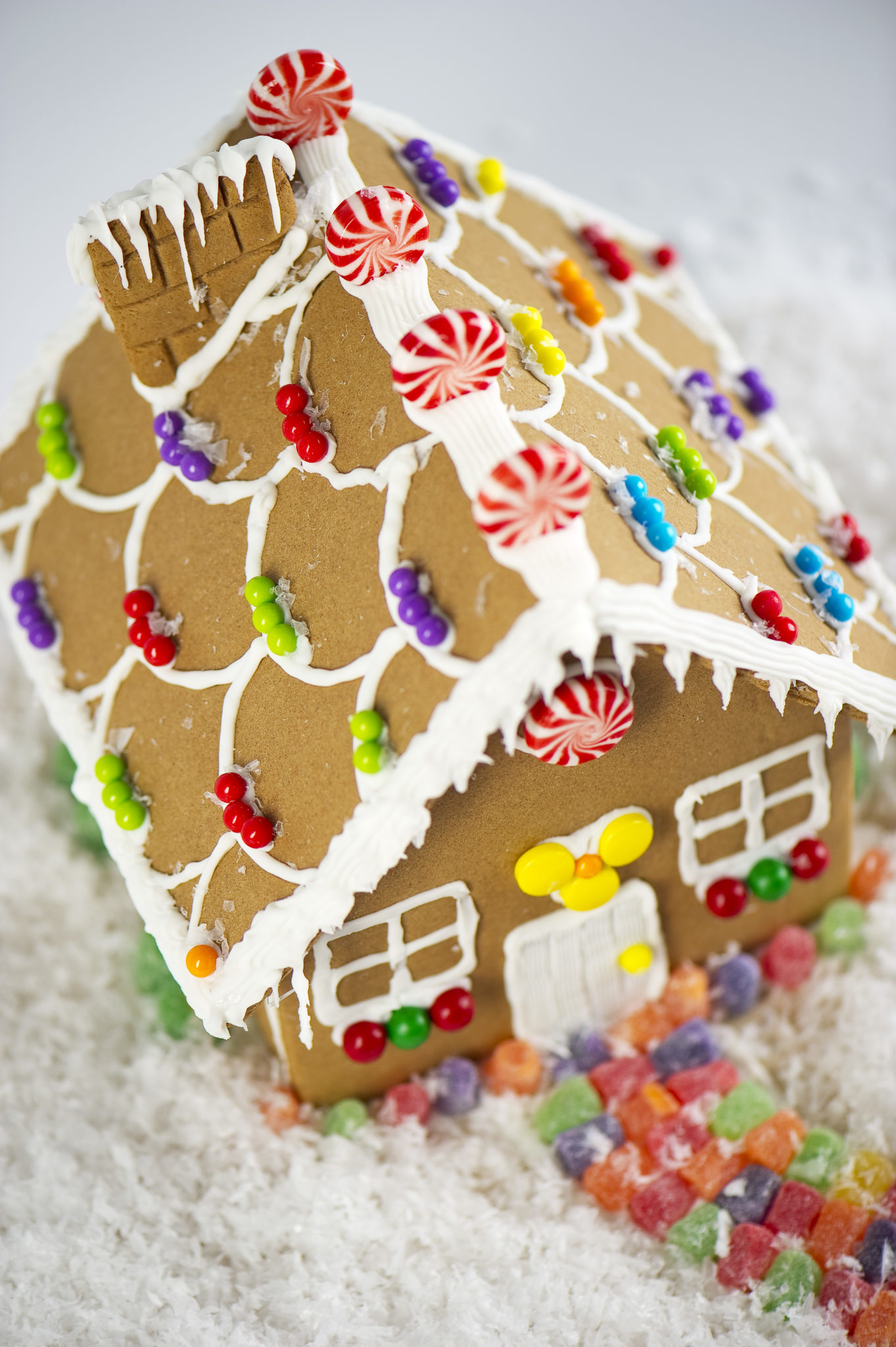 How to create a durable gingerbread house