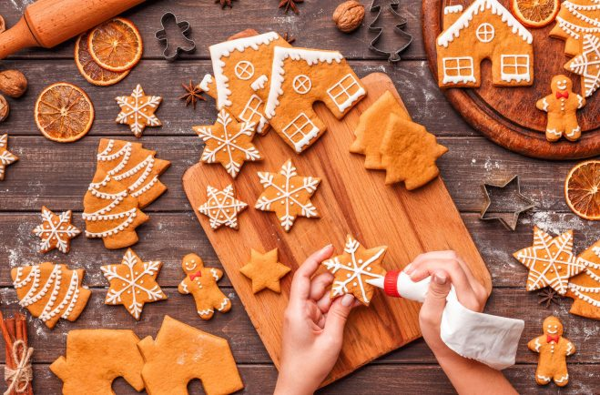 Gingerbread Decorating Day a day set aside to decorate your gingerbread baked items. #GingerbreadDecoratingDay