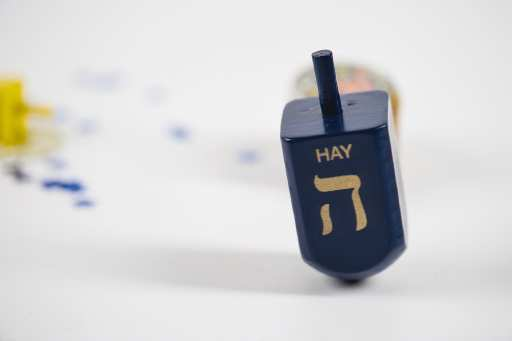 Dreidel for Hanukkah