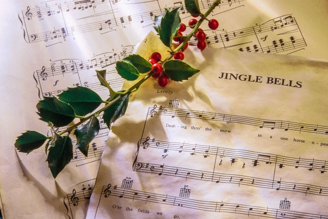 """Christmas carol spotlight: Jingle Bells - """"Jingle Bells"""" is a popular Christmas tune that many celebrants might be surprised to learn is more than 150 years old. #JingleBells"""