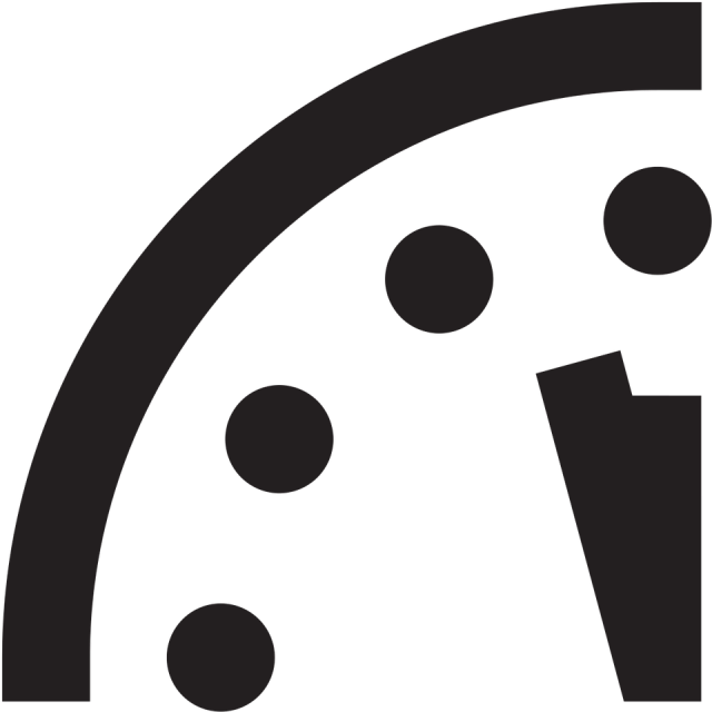 The Doomsday Clock doesn't determine the End of Times - As Christians, we should know this and not listen to when scientists say the apocalypse will be. #DoomsDay #DoomsDayClock