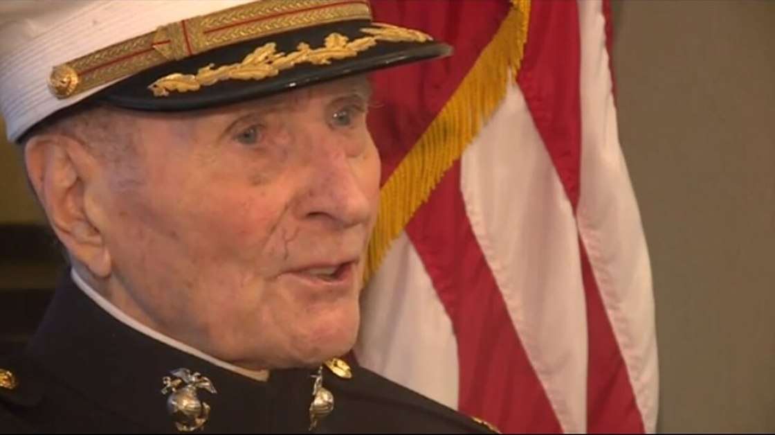 Valentine's Wanted: 104-year-old retired Marine. That is exactly what Major Bill White of the USMC wants for this Valentine's Day.