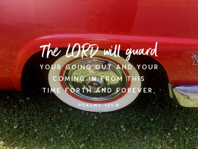 """VOTD March 9 - """"The LORD will guard your going out and your coming in From this time forth and forever."""" Psalms 121:8 NASB #BibleLens"""