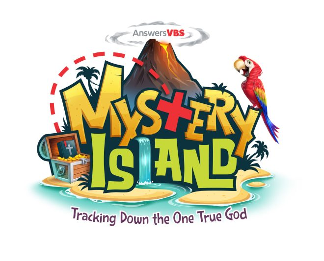 Mystery Island is AiG's VBS 2020 - Tracking down the one true God and uncover the truth about our Creator God. #MysteryIsland