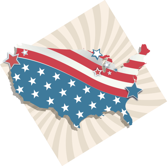 Most Sinful States in America - Find out what the most sinful states are in the United States. Did the state you live in make the list? Read on to find out! You might be surprised! #SinfulStates