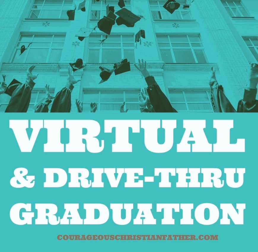 Virtual & Drive-Thru Graduation - The Class of 2020 will be a year that Graduates will never forget! Graduation has changed how we do it! #Graduation #Classof2020