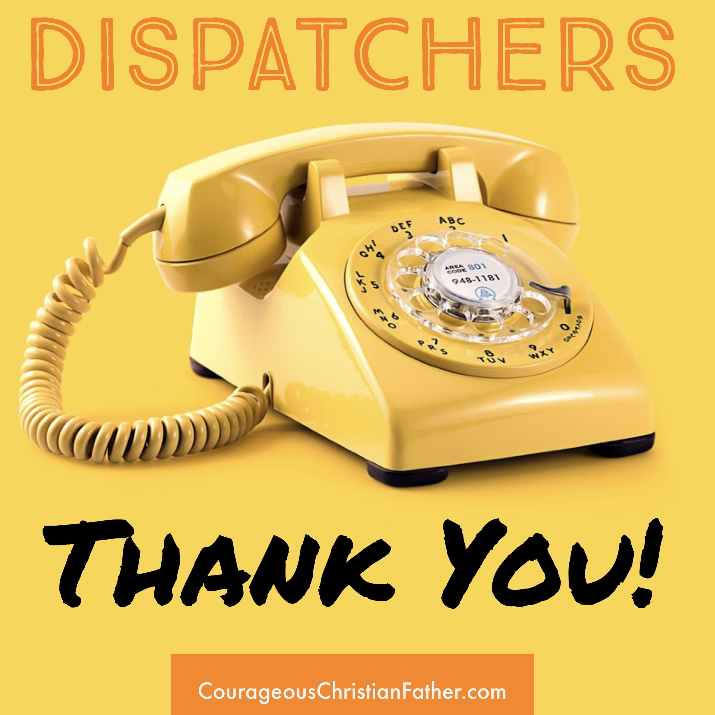 Thank You Shoutouts - Dispatchers