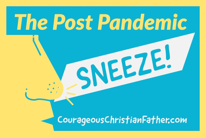 The Post Pandemic Sneeze - Because of the pandemic of the COVID-19 Coronavirus, those of us with allergies are afraid to sneeze anywhere.