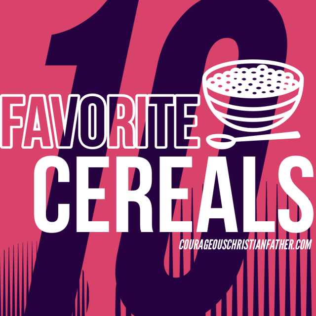 10 Favorite Cereals - A list of my 10 favorite breakfast cereals. Did your favorite make my list? Find out! #BreakfastCereals #Cereals