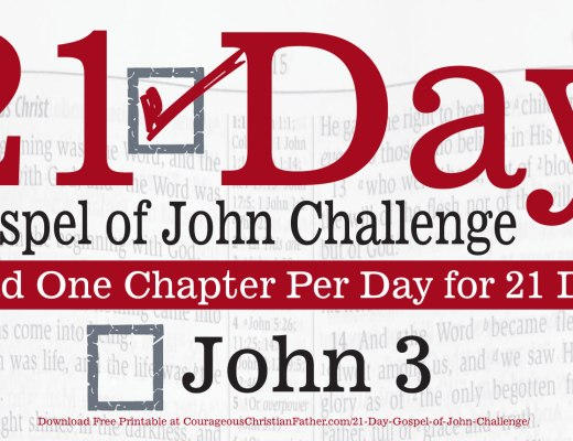John 3 - This is day three of the 21 day Gospel of John Challenge. In this challenge, you are to read the third chapter of John. #John3
